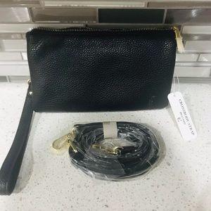 Handbags - NWT Black clutch/crossbody purse